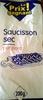 Saucisson sec pur porc - Produit