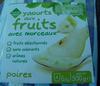 Yaourts aux fruits avec morceaux Poires - Product