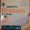 Yaourts Brassés au Citron - Product
