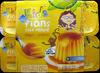 Flans goût vanille nappés caramel Kids Leader Price - Product