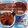 Mousse au chocolat au lait Leader Price - Product