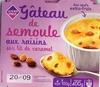 Gateau semoule aux raisins - Produit