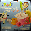 Kids Fromages frais aux fruits (3,3 % MG) - Product