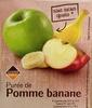 Purée de Pomme banane - Produit