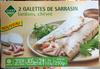 2 Galettes de Sarrasin lardons, chèvre - Product
