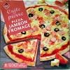Pizza Jambon Fromage, Cuite sur pierre - Product