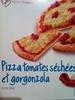 Pizza tomates séchées et gorgonzola - Product