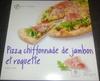 Pizza chiffonnade de jambon et roquette, Surgelé - Product