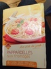 Pappardelles aux fromages - Product
