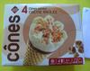 4 Cônes Crème brûlée - Produit