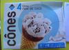 4 Cônes Noix de coco - Product