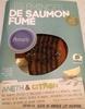 Emincés de saumon fumé aneth & citron - Product