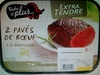 2 Pavés de Bœuf à la béarnaise extra tendre marinés - Produit