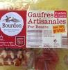 Gaufres artisanales pur beurre - Produit