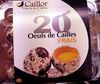 20 oeufs de Cailles frais - Produit