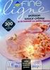 Fine ligne Poisson sauce crème et riz basmati aux petits légumes - Product