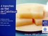 4 Tranches de filet de Cabillaud - Product