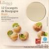 12 Escargots de Bourgogne Moyen - surgelés 70 g - Product