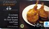 2 cuisses de canard du Sud-Ouest confites surgelées - Producto