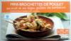 Mini-brochettes de poulet au miel et au thym grillées au barbecue - Product