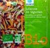 Julienne de légumes Bio - Prodotto