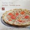 Tarte fine Jambon - Tomate Cerise - Product