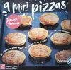 9 mini pizzas jambon fromage - Produit