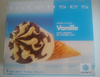 Cônes intenses crème glacée Vanille - Product