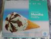 Cônes intenses - Crème glacée menthe - Produit