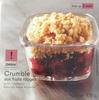 Crumble aux fruits rouges - Product