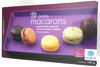 12 autres macarons, cassis-violette, pistache, fruit de la passion, réglisse - Produit
