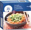 Chirashi au saumon, tartare de saumon, riz vinaigré et avocat - Product