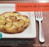 4 rosaces de pomme de terre - Produit