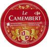 Le Camembert - Fromage à patte molle au lait pasteurisé - Product
