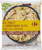 Riz, poulet et champignons noirs - Product