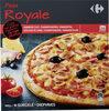 Pizza cuite sur pierre Royale - Produit