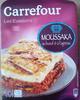 Moussaka au boeuf et à l'agneau - Product