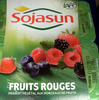 Dessert végétal aux morceaux de fruits, Fruits Rouges (4 Pots) - Product