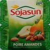 Dessert végétal aux morceaux de fruits, Poire Amandes (4 Pots) - Product