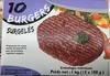 10 burgers surgelés - Produit