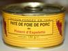 Pâté de Foie de Porc au Piment d'Espelette - Product