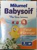 Babysoif Mes 1ères boissons Fleur d'Oranger - Product
