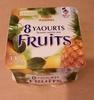 Yaourts brassés sucrés aux fruits - Product