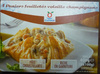 4 Paniers feuilletés volaille champignons - surgelés 400 g - Produit