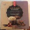 Crèmes Glacées à la Crème Fraîche Vanille Macadamia et Chocolat Brownies - Product