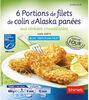 Portions panées d'Alaska aux céréales - Product