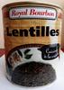 Lentilles cuisinées à la créole - 800 g - Royal Bourbon - Product