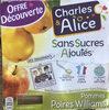 Pommes Poires Williams - Product