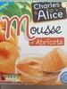 Mousse d'abricots - Produit