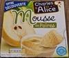 Mousse de Poires - Produit